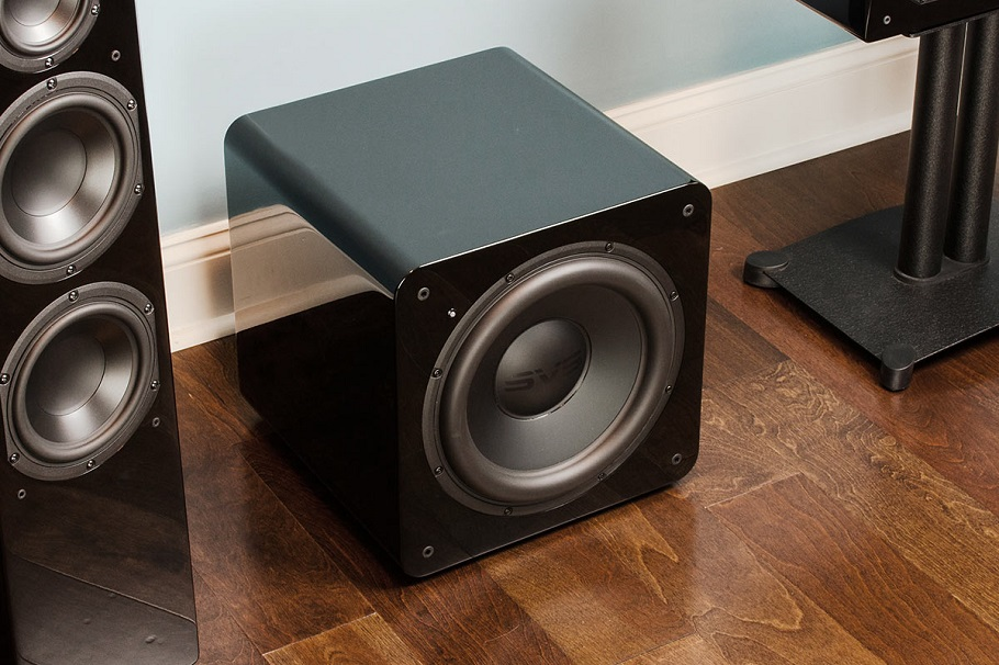 subwoofer and speaker