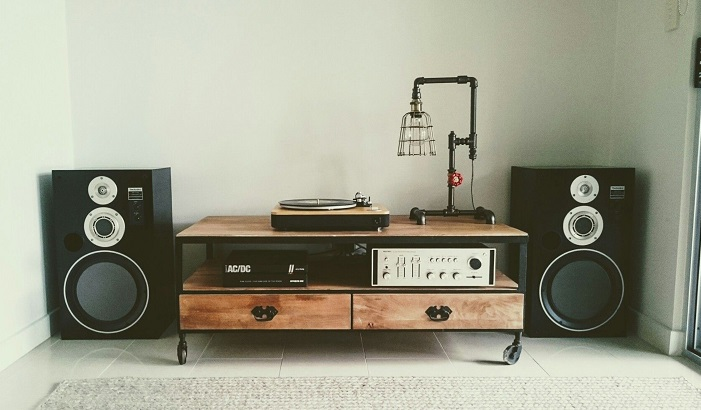 turntable setup